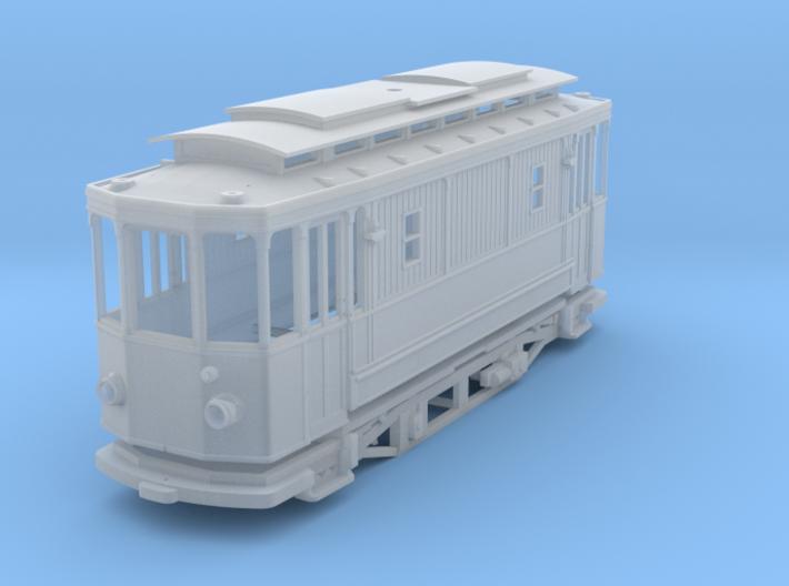 (H0m) - Arbeitstriebwagen 3d printed