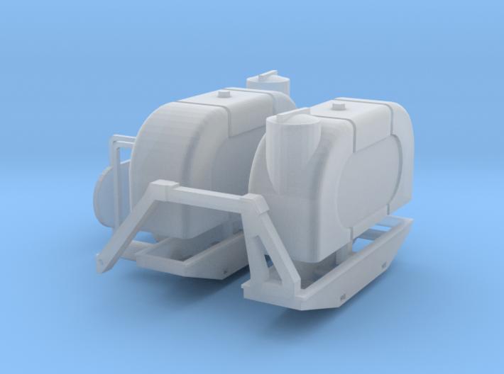 1/64 Saddle tanks 3d printed