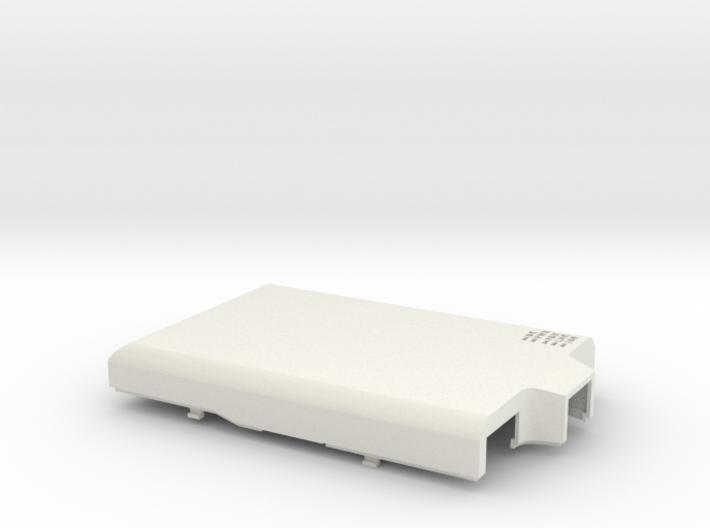 Raspberry Pi B case - top 3d printed