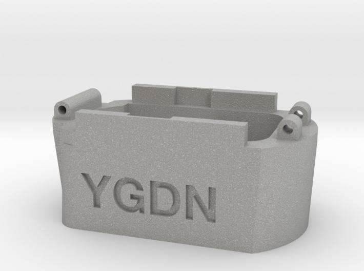 Glock hi capacity magazine to Hi-Capa AEP adapter 3d printed