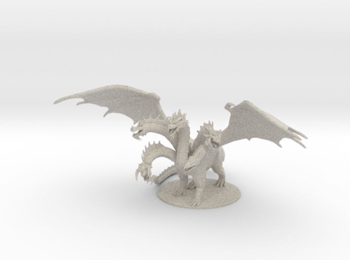 Tiamat , Queen of all Chromatic Dragons 3d printed