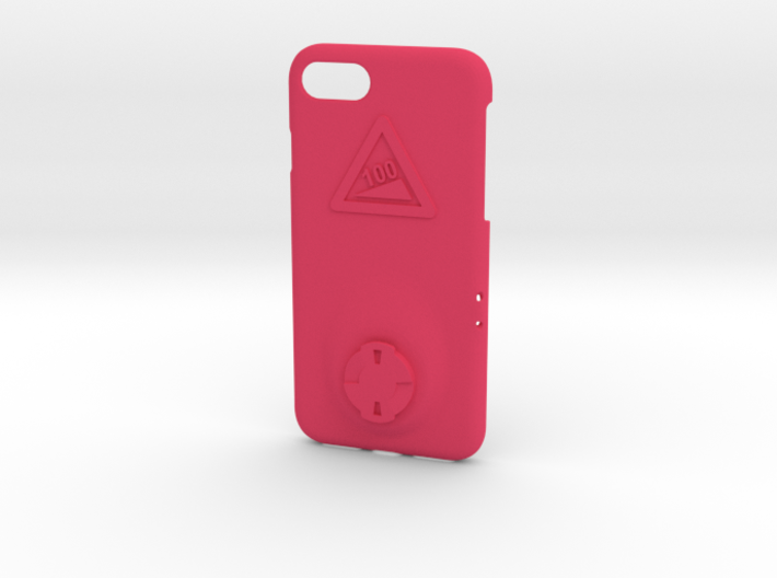 iPhone 8 Wahoo Mount Case - Hill Climb 3d printed