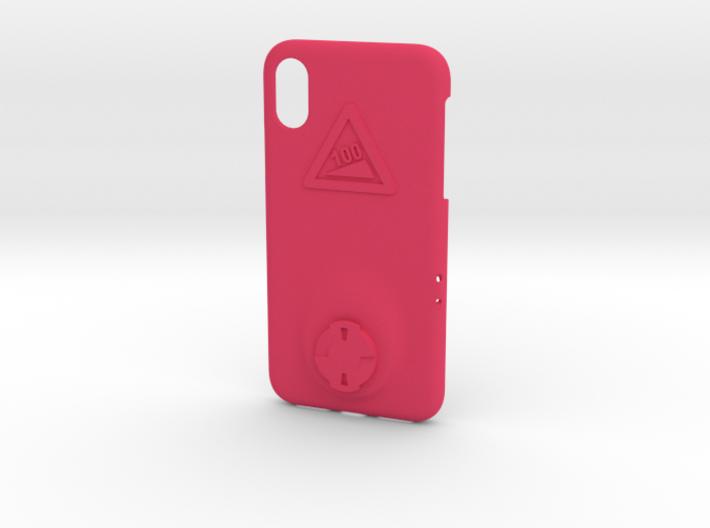 iPhone X Wahoo Mount Case - Hill Climb 3d printed