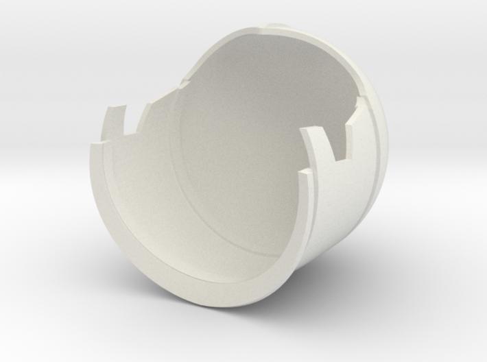 1/6 Sci-Fi Century helmet main 3d printed
