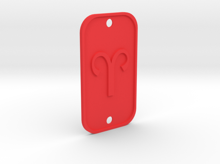 Aries (The Ram) DogTag V1 3d printed