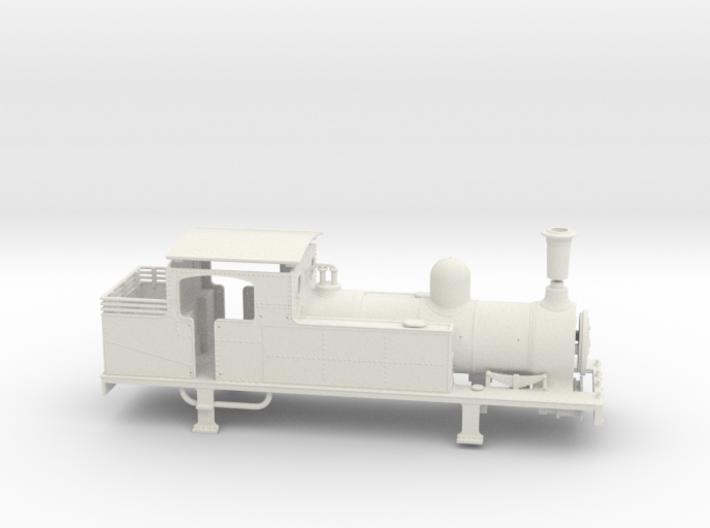 FR J1 - Body - WSF/BSF 3d printed