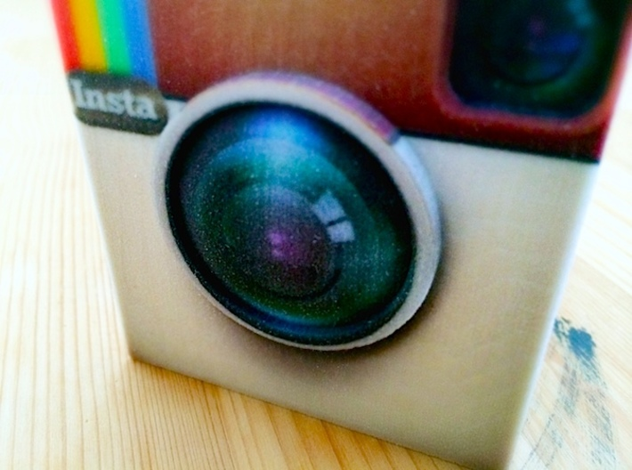 InstaBox: the Instagram Desk Container 3d printed