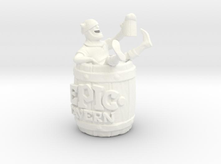 Epic Tavern Drunk Barrel 3d printed