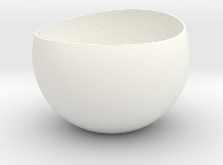 Rounded Egg Planter 3d printed