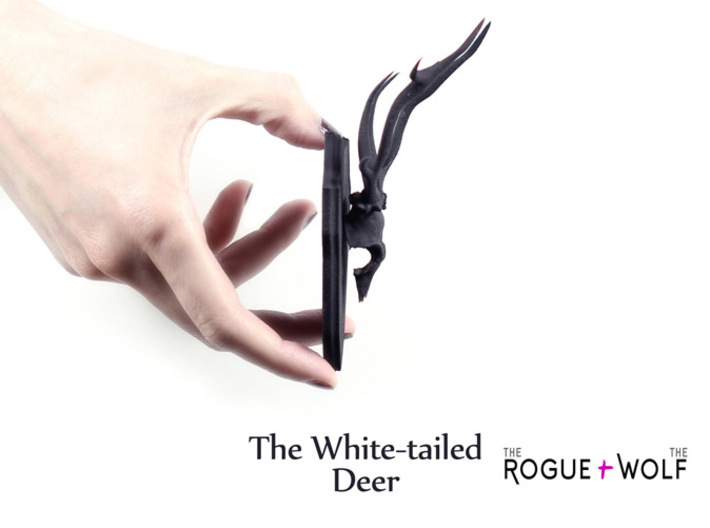 The White-tailed Deer Mini Faux Taxidermy 3d printed