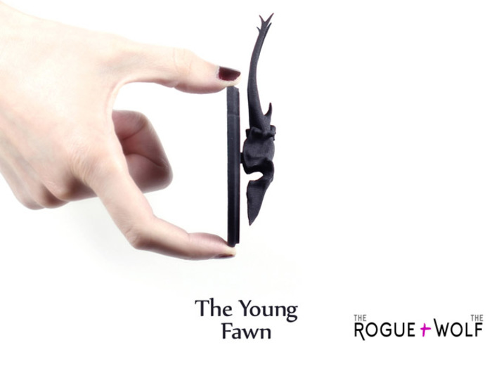 The Young Fawn Mini Faux Taxidermy 3d printed