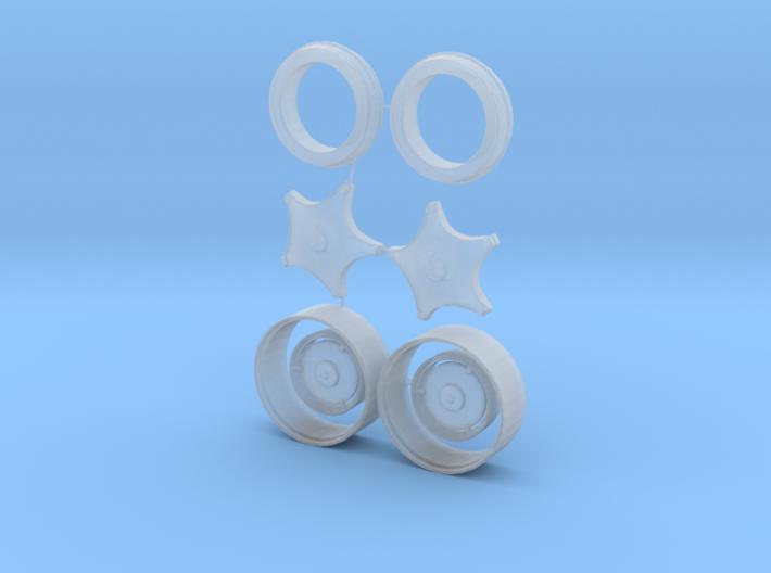 Case VAC Wheels 3d printed