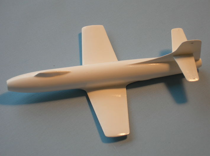 Douglas Skystreak 1/72 scale-no tip tanks 3d printed