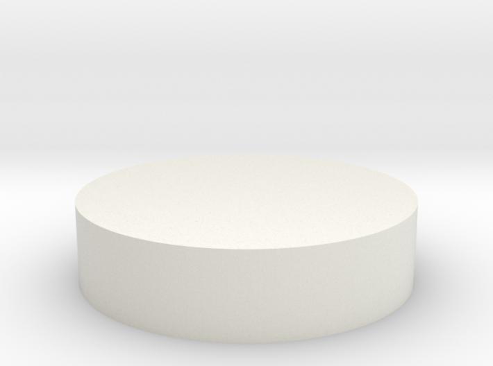 Circular Tab 3d printed
