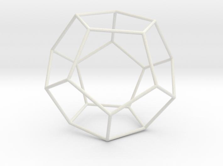 Pentahedron 3d printed