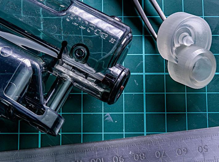 """Takagi Type M2019 Muzzle (modification) 3d printed Finished piece """"Frosted Ultra Detail"""""""