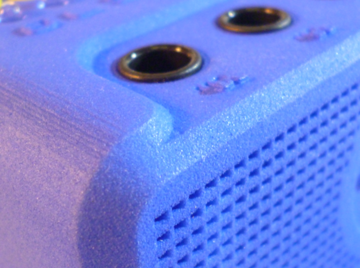 MISWINO Case 3d printed Closeup Rounded Edges with Jack Socket (Photo)