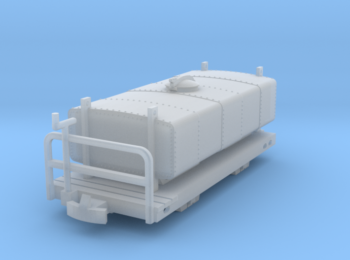 Deutsche Heeresfeldbahn tankwagon H0e 3d printed