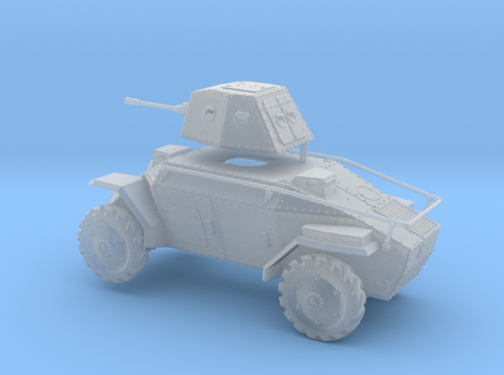 1/87th (H0) scale 39M Csaba hungarian armoured ca 3d printed