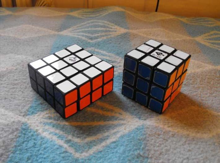 4x4x2 v3.25 3d printed Size to a normal 3x3