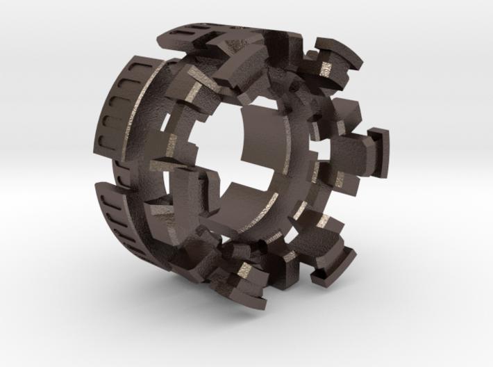 "HILT GX16 Connector Holder 1"" STEEL 3d printed"