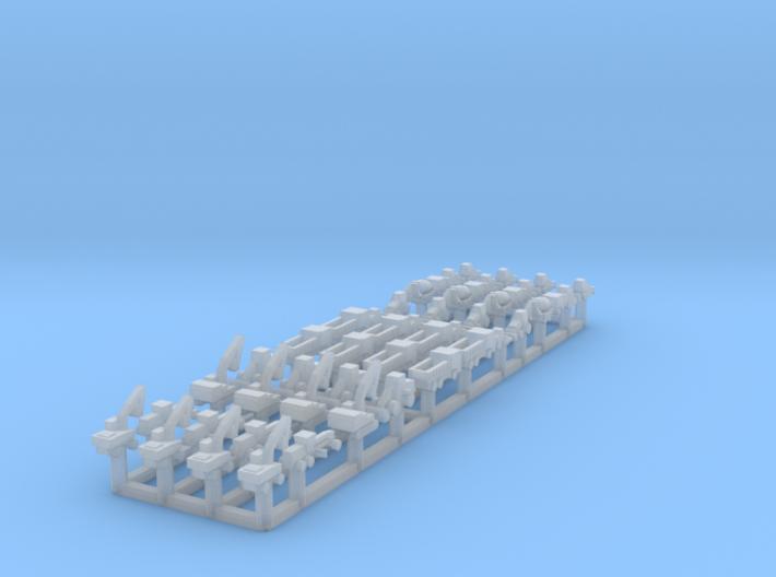 1/1250 Construction Vehicles (FUD) 3d printed