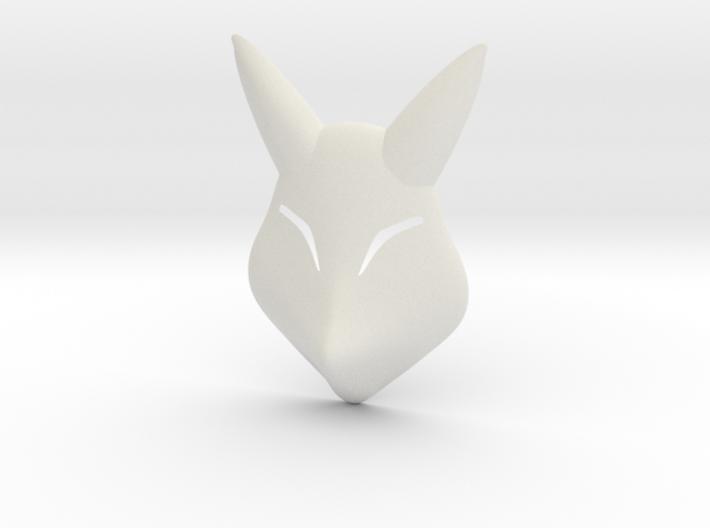 Keaton Fox Mask 3d printed