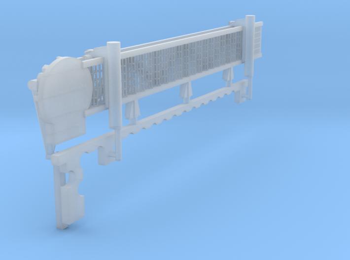 1:96 scale Walkway - Starboard - Long 3d printed