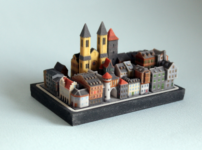Medieval Village set 3d printed baseplate not included
