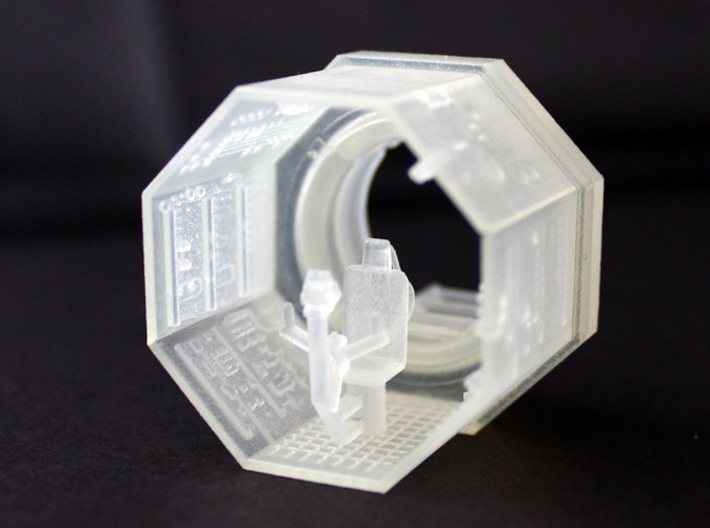 YT1300 TURRET WELL MPC 3d printed Millennium Falcon turret well complete.