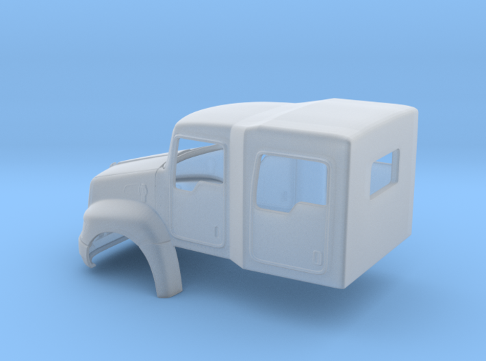 Kenworth T370 4 Door Crew Cab light duty truck 3d printed