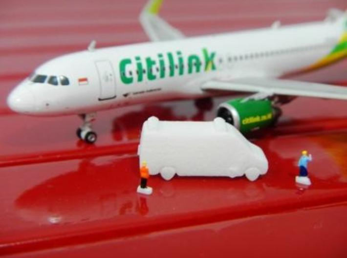 Airport GSE 1:400 Ambulance 1 3d printed