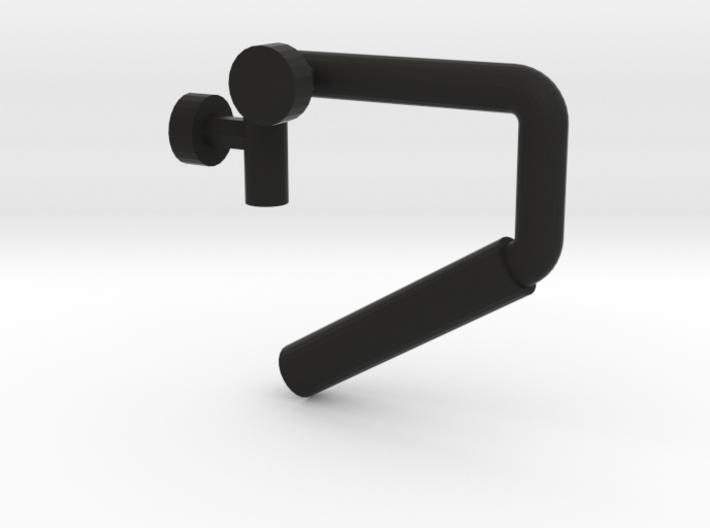 Interior grab handle - Passenger side (USA) 3d printed Passenger side shown