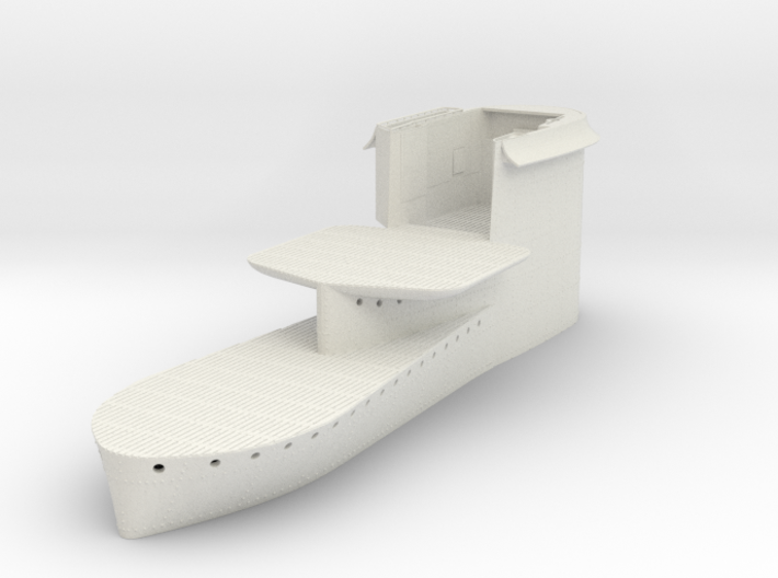 1/48 Uboot VII C41 Conning Tower 3d printed