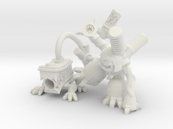Mob of MOGITES! 3d printed