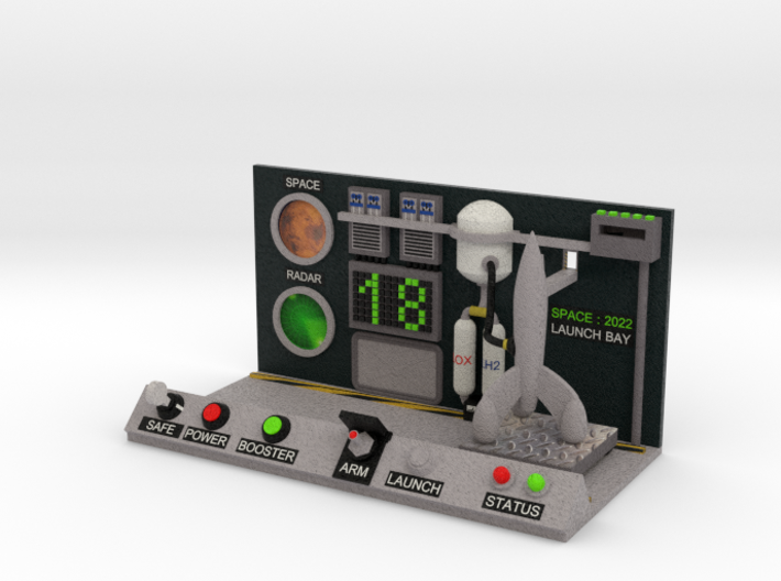 boOpGame Shop - SPACE:2022 Launch Bay 3d printed boOpGame Shop - SPACE:2022 Launch Bay