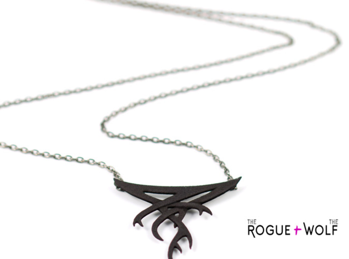 """The """"Forget"""" necklace 3d printed"""