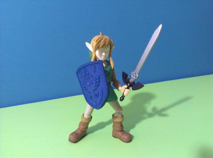 Figma Link to the Past Face 3d printed