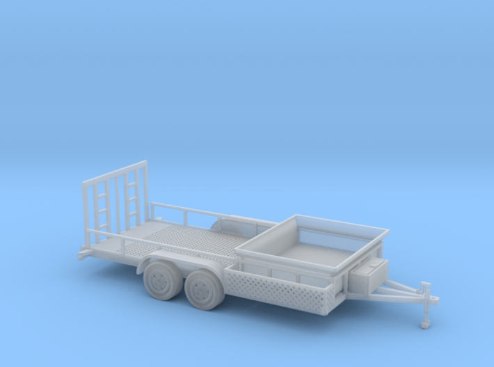 Dump Trailer Long 1-50 Scale 3d printed