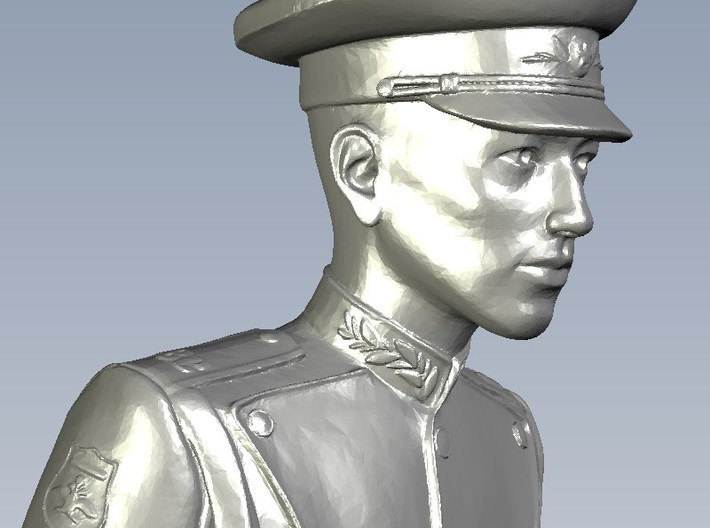 1/35 scale USSR & Russian Army honor guard soldier 3d printed