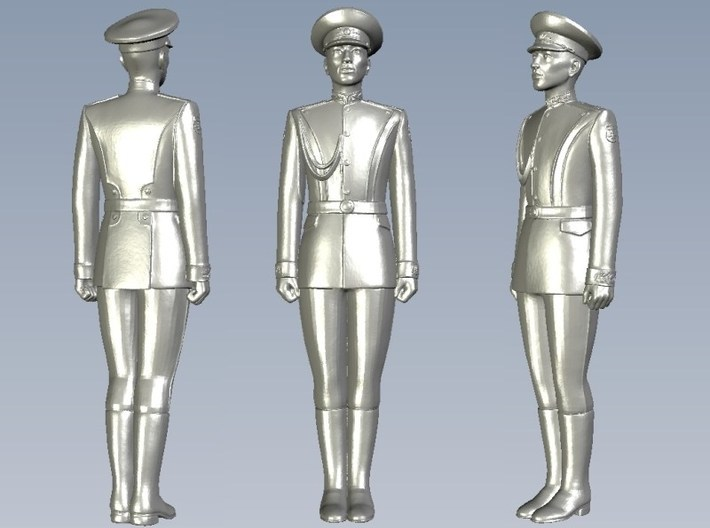 1/15 scale USSR & Russian Army honor guard soldier 3d printed