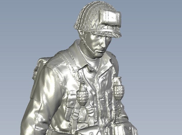 1/16 scale D-Day US Army 101 Airborne soldier 3d printed