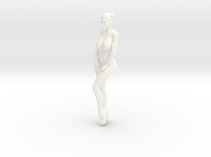 Heels girl 010 Scale 1:10 3d printed