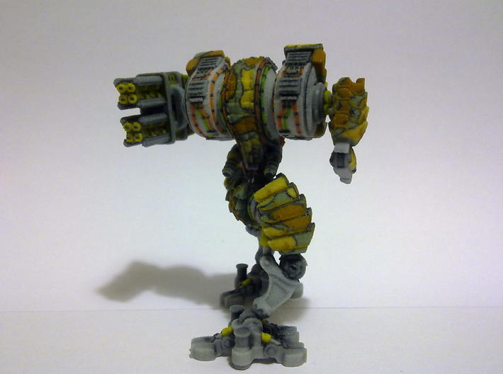 Heavy Mech suit 3d printed Back
