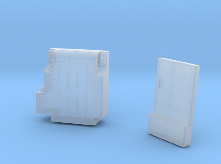 CM stowage compartments 3d printed