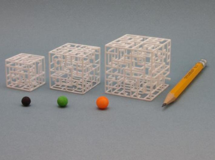 Maze Mix-pack 1 – 555, 666, 777 3d printed Pencil for Scale