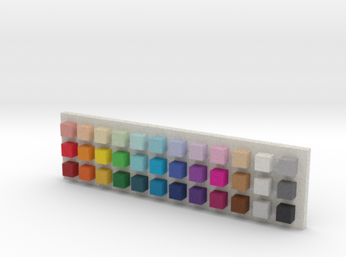 Tinkercad Color Palette 3d printed