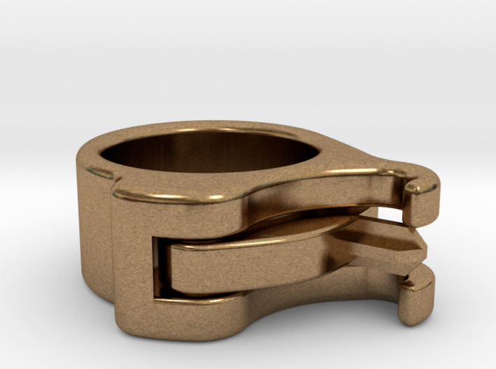 Uncapped Ring 3d printed