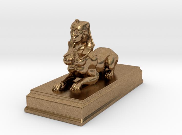 Sphinx Statue 10cm 3d printed