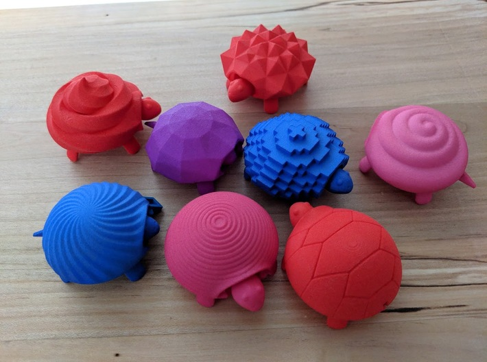 Squishy Turtle - Classic 3d printed